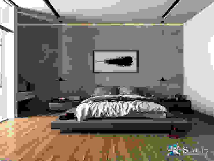 Minimalist bedroom by Studio17-Arquitectura Minimalist