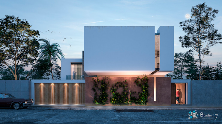 Minimalist house by Studio17-Arquitectura Minimalist