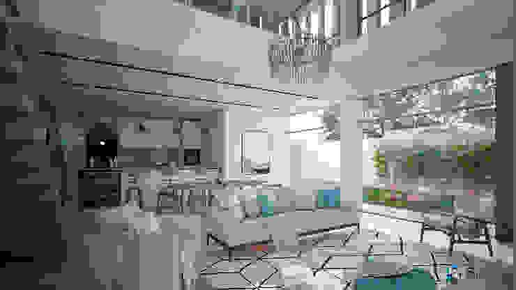 Minimalist dining room by Studio17-Arquitectura Minimalist
