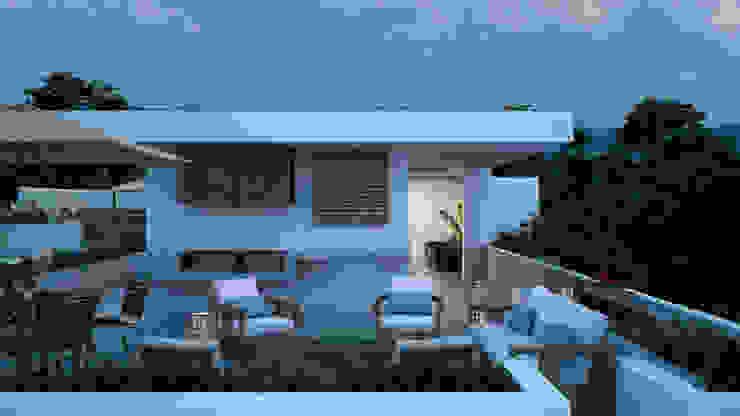 Minimalist conservatory by Studio17-Arquitectura Minimalist