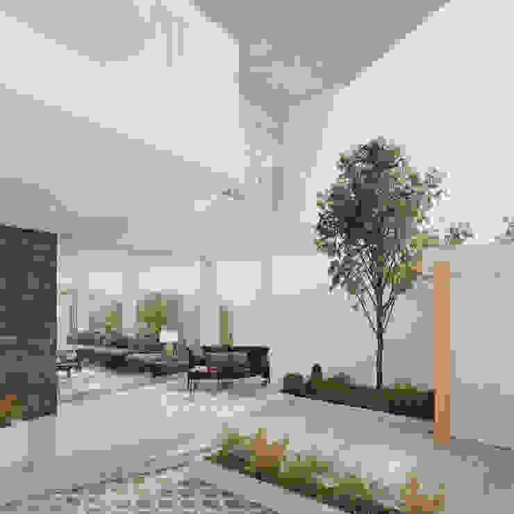 INTERIOR Balcones y terrazas de estilo minimalista de Studio17-Arquitectura Minimalista