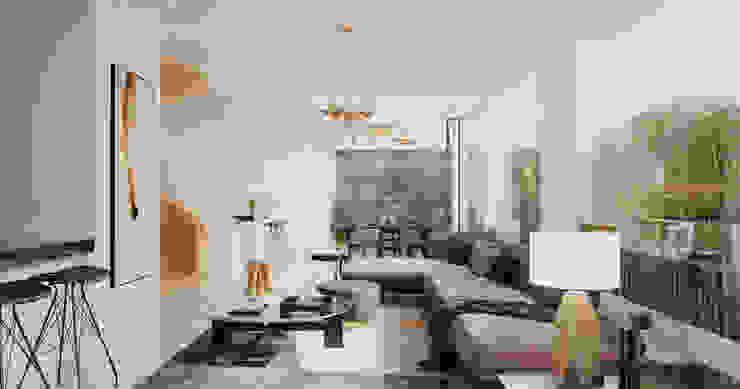 LIVING ROOM Comedores de estilo minimalista de Studio17-Arquitectura Minimalista