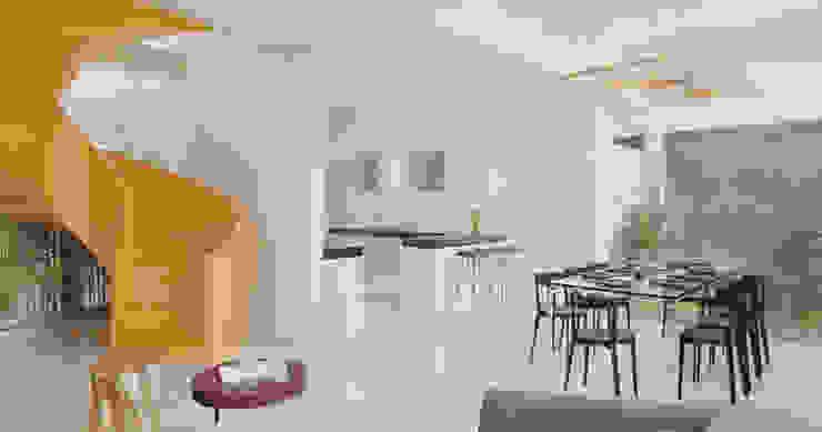 DINNING ROOM Comedores de estilo minimalista de Studio17-Arquitectura Minimalista