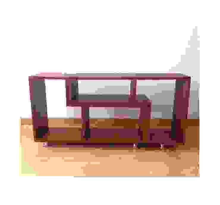 Rack Tv de Pájaro Carpintero Moderno Madera Acabado en madera
