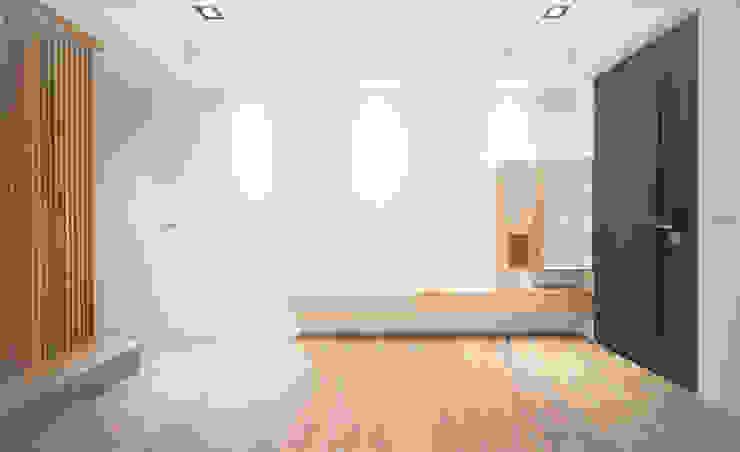 老屋翻新 巷‧日閣 | 1F客廳 by 有隅空間規劃所 Asian