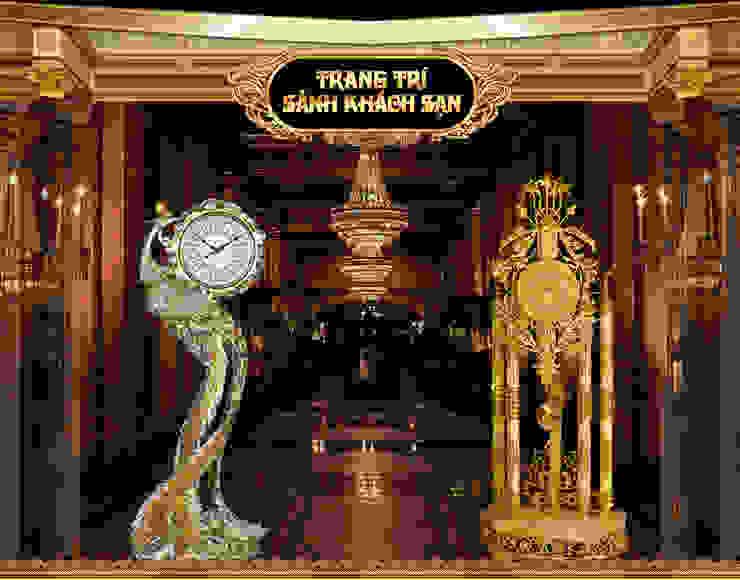 Kiểu đồng hồ cây trang trí sảnh khách sạn: Châu Á  by Cửa Hàng Đồng Hồ Cây OnPlaza, Châu Á