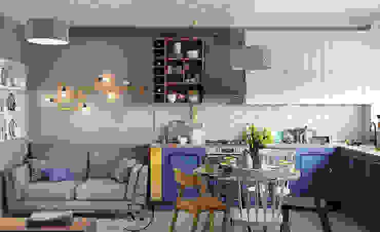 Кухня в скандинавском стиле. от IvE-Interior Скандинавский