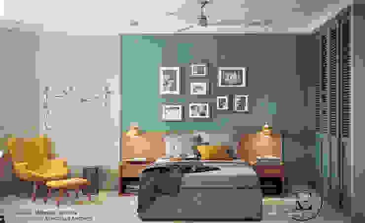 Scandinavian style bedroom by IvE-Interior Scandinavian