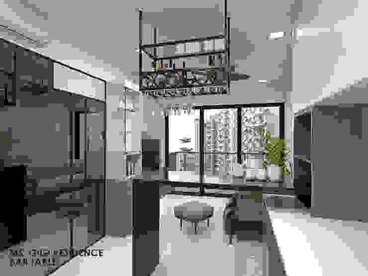 Kingsford Waterbay Modern living room by Swish Design Works Modern