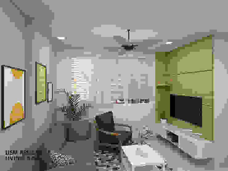 Buangkok Link Minimalist living room by Swish Design Works Minimalist
