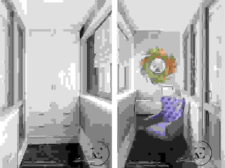 Балкон в классическом стиле. от IvE-Interior Классический