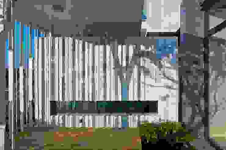 景觀設計 | 白色方盒建築 根據 大桓設計顧問有限公司 現代風