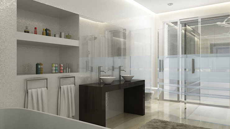Modern Bathroom by iHome Lda Modern