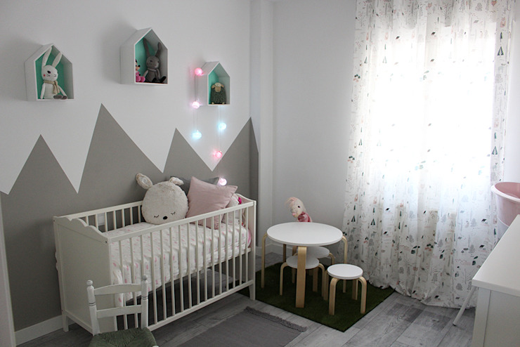 EL DORMITORIO DE SOFÍA Dormitorios infantiles de estilo escandinavo de KELE voy a hacer Escandinavo