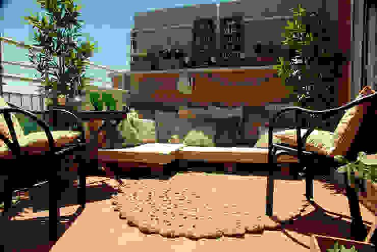 LA TERRAZA DE LUIS Balcones y terrazas de estilo mediterráneo de KELE voy a hacer Mediterráneo