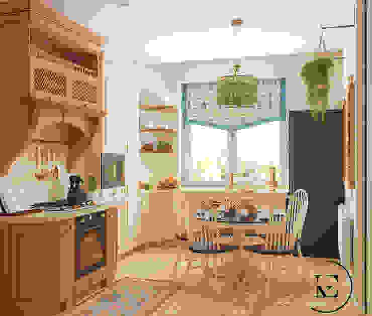 Кухня в средиземноморском стиле. от IvE-Interior Средиземноморский