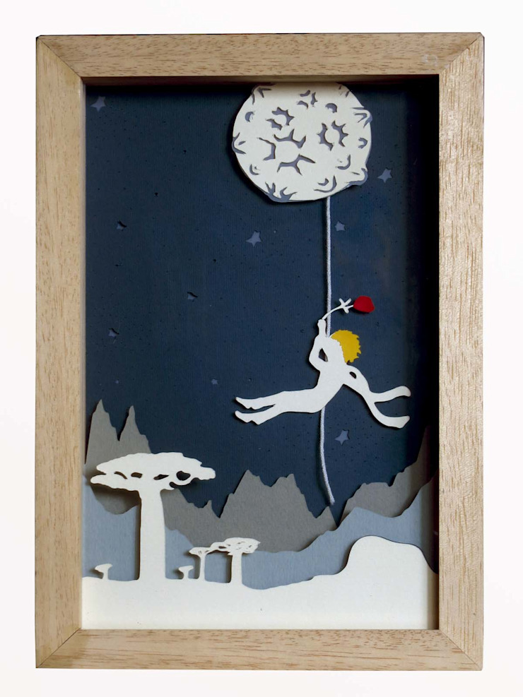 scandinavian  by Minihaus Kids, Scandinavian Wood Wood effect