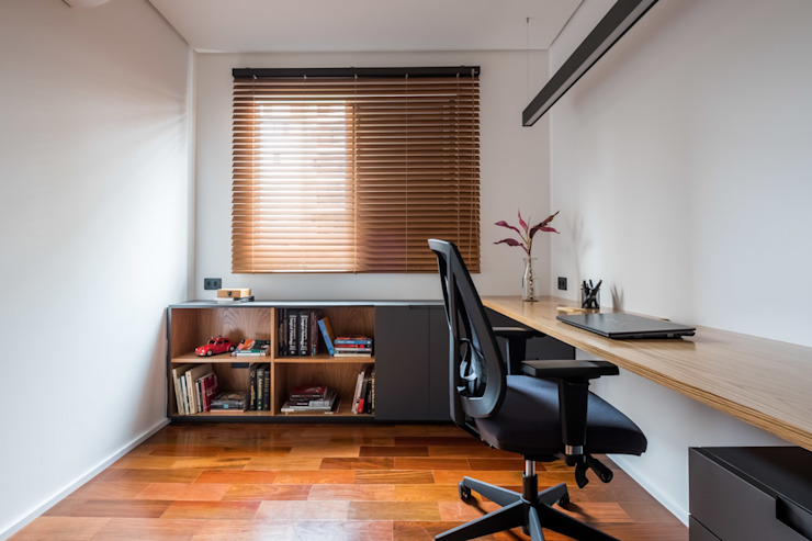 Study/office by INÁ Arquitetura, Minimalist