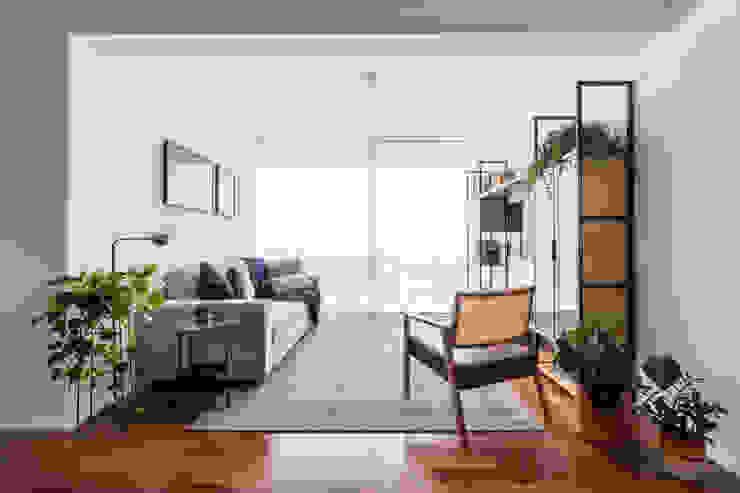 Sala integrada by INÁ Arquitetura Minimalist