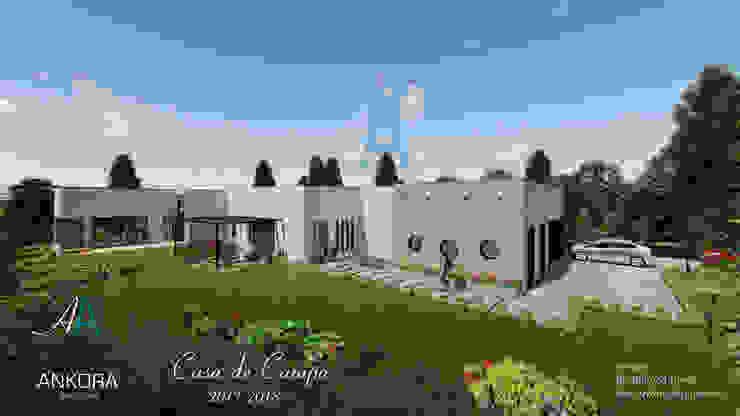 CASA CANO Casas modernas de ANKORA ARQUITECTOS Moderno Concreto