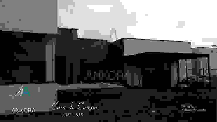 construccion de ANKORA ARQUITECTOS Moderno Concreto
