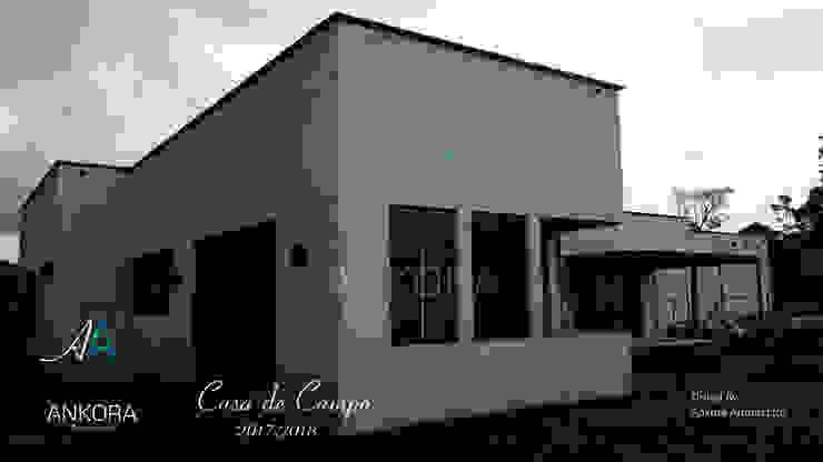 fachada de ANKORA ARQUITECTOS Moderno Concreto
