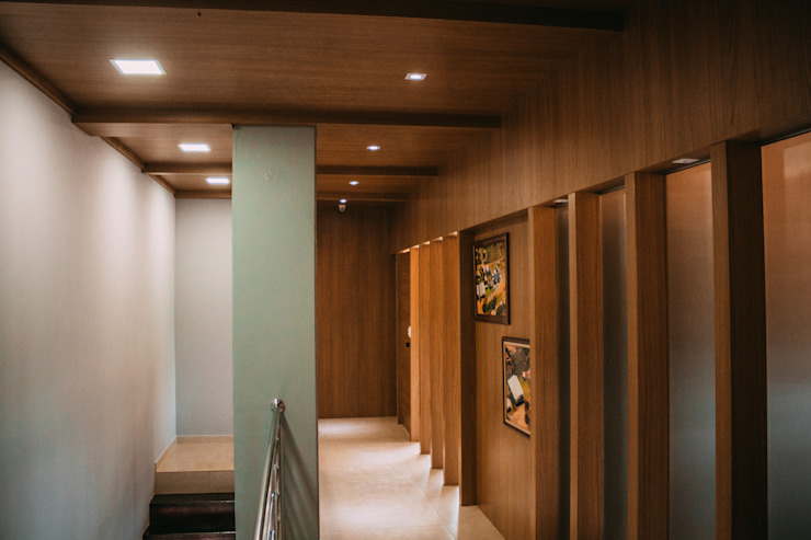 CAZA & AP Commercial Spaces MDF Wood effect