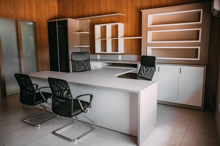 CAZA & AP Commercial Spaces MDF Beige