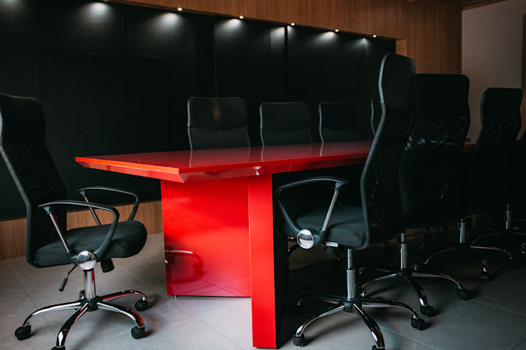 CAZA & AP Commercial Spaces MDF Red