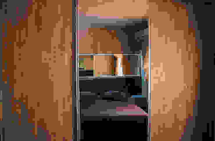 CAZA & AP Modern Bedroom MDF Wood effect