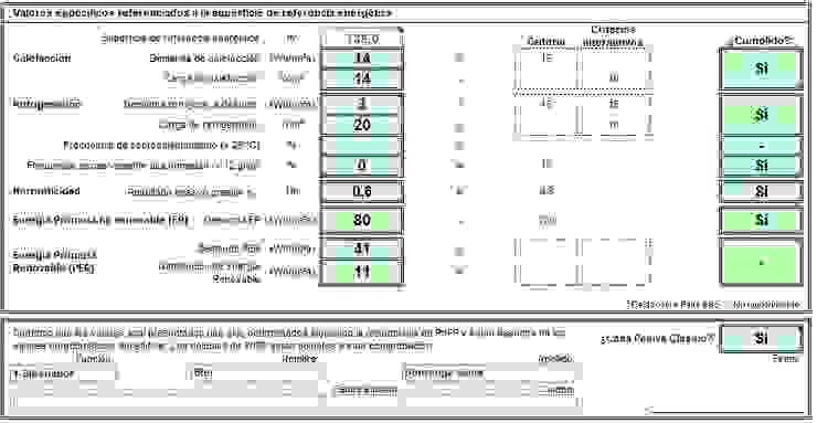 Resultado hoja de cálculo PHPP de Divers Arquitectura, especialistas en Passivhaus en Sabadell Moderno