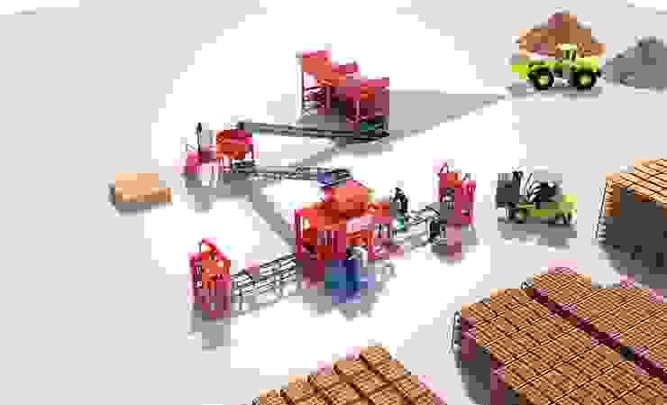 مصنع بلوك من BEYAZLI GROUP صناعي
