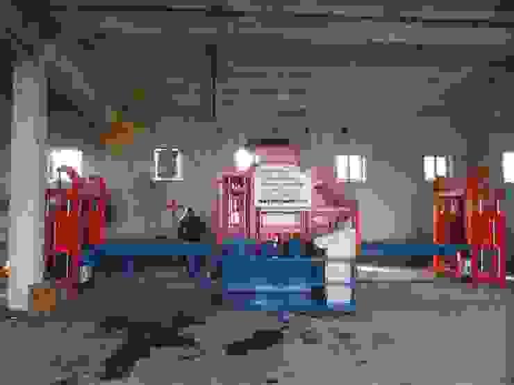 مصنع بلوك اسمنتي - ماكينة انترلوك من BEYAZLI GROUP صناعي