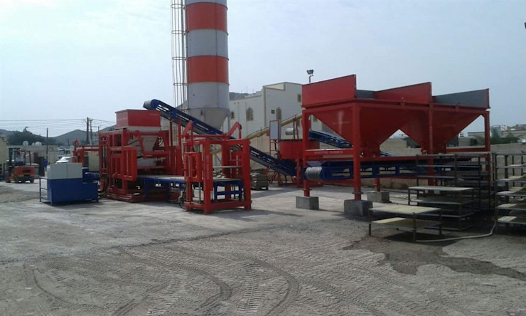مصنع بلوك اسمنتي – ماكينة انترلوك من BEYAZLI GROUP صناعي