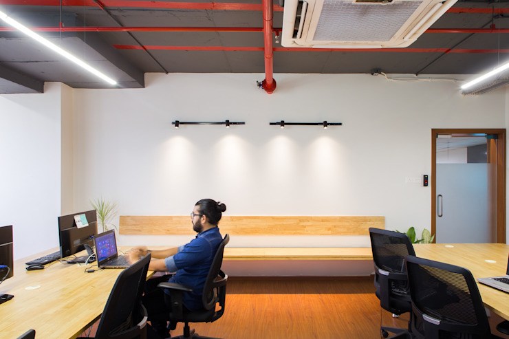 Workspace by M+P Architects Collaborative Modern