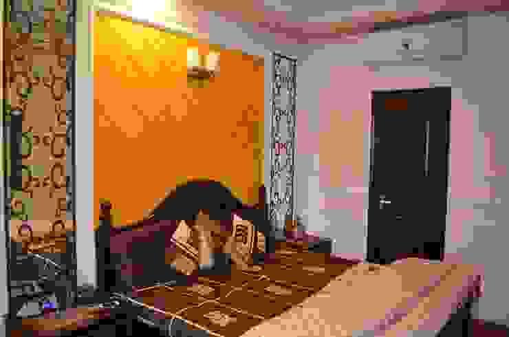 Eldeco—704, Indrapuram Asian style bedroom by Neun Designs Pvt.Ltd. Asian