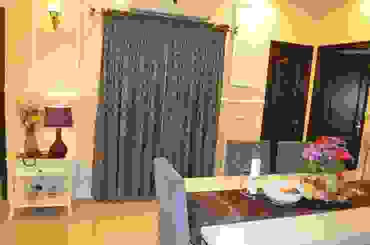 Eldeco—704, Indrapuram Asian style dining room by Neun Designs Pvt.Ltd. Asian