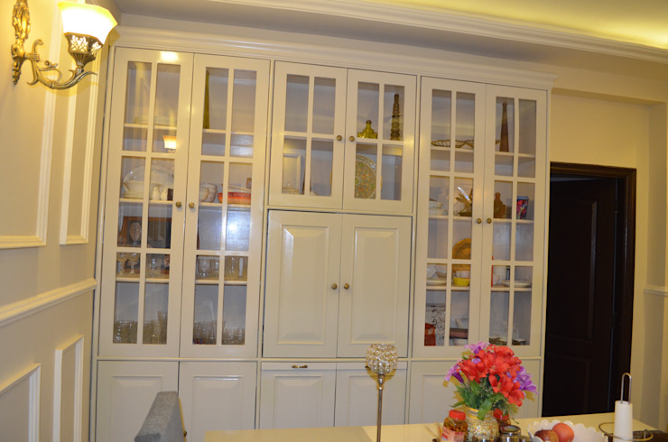 Eldeco - 704, Indrapuram Neun Designs Pvt.Ltd. Asian style dining room