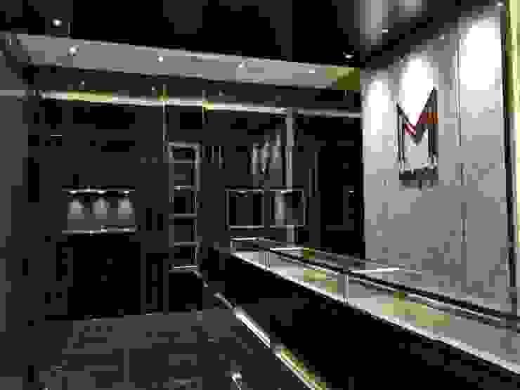 งานตกแต่งร้าน M Money 24: ทันสมัย  โดย Interior 92 Co.,Ltd., โมเดิร์น กระจกและแก้ว