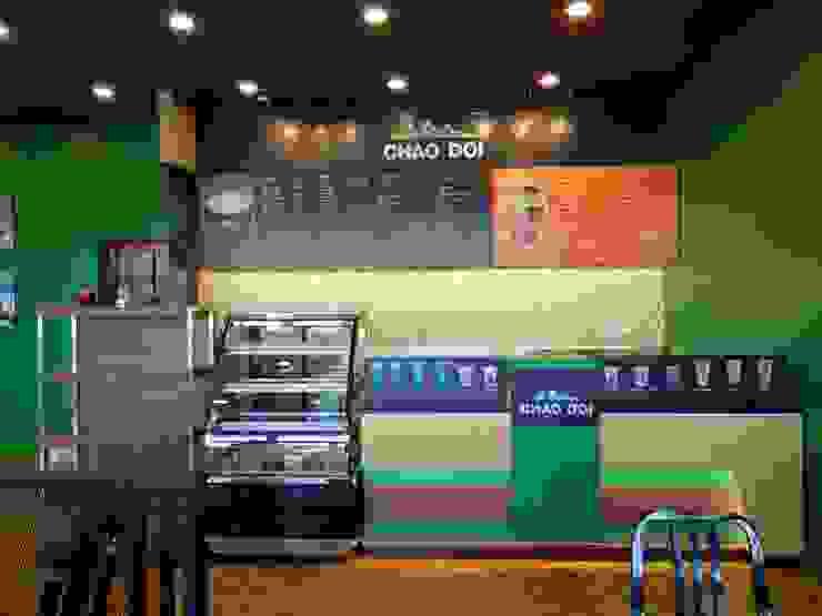 Chao Doi Coffee : ทันสมัย  โดย Interior 92 Co.,Ltd., โมเดิร์น แผ่นไม้อัด Plywood