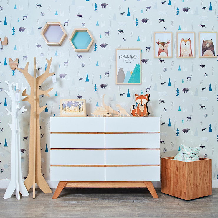 Minihaus Kids Chambre d'enfantsPenderies et commodes Bois Effet bois