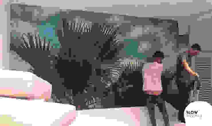 Blow Deco Pics Tropical style walls & floors