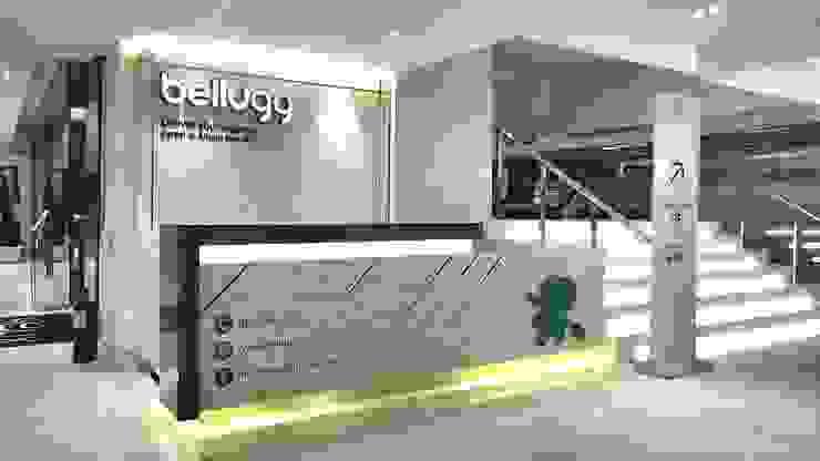 ร้าน Bellugg สาขาเอ็มควอเทียร์ โดย PANI CREAT STUDIO CO., LTD. โมเดิร์น
