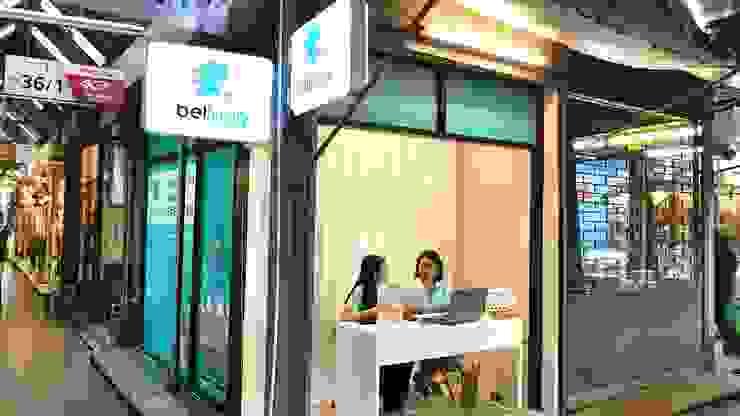 ร้าน Bellugg สาขาสวนจตุจักร โดย PANI CREAT STUDIO CO., LTD. โมเดิร์น