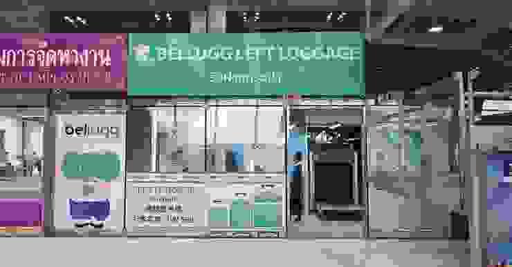 ร้าน Bellugg สาขาสนามบินสุวรรณภูมิ โดย PANI CREAT STUDIO CO., LTD. โมเดิร์น