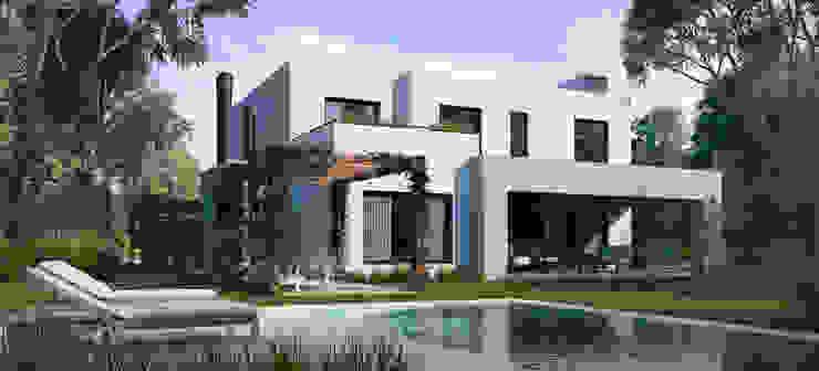 Contrafrente Casa Santa Catalina de Renders + Arquitectura