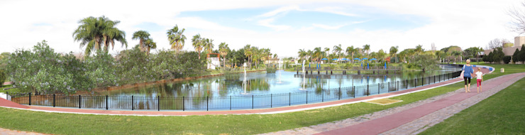 Fotomontaje Parque Norte de Renders + Arquitectura