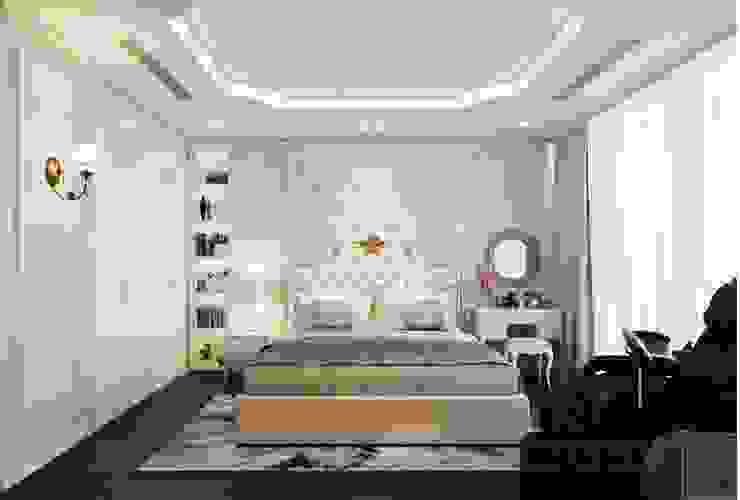Phong cách Tân Cổ Điển – Ngôi nhà thiết kế sáng tạo, truyền cảm hứng cuộc sống Phòng ngủ phong cách kinh điển bởi ICON INTERIOR Kinh điển