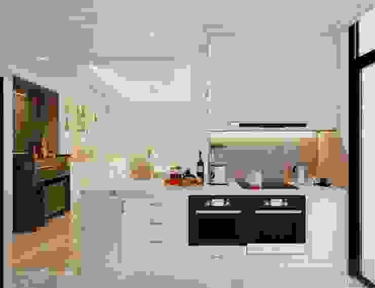 Phong cách Tân Cổ Điển – Ngôi nhà thiết kế sáng tạo, truyền cảm hứng cuộc sống Nhà bếp phong cách kinh điển bởi ICON INTERIOR Kinh điển