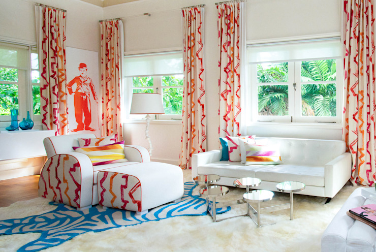 Colourful Bedroom Design by Design Intervention Modern style bedroom by Design Intervention Modern